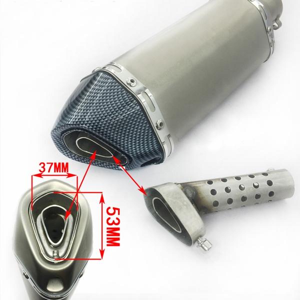 motorcycleaccessorie, Steel, exhaustmufflerpipe, exhaustsystem