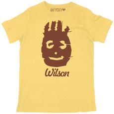 Mens T Shirt, Wilson, Funny T Shirt, tomhank