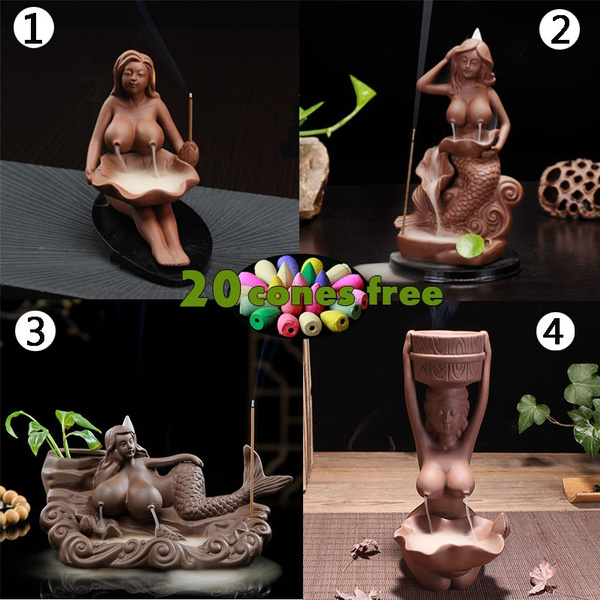 Home Decor, home fragrance, nude, Ceramic