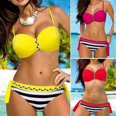 Summer, bathing suit, Fashion, Halter