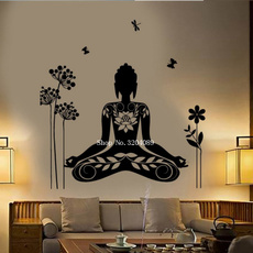 butterfly, decoration, yogamural, Flowers
