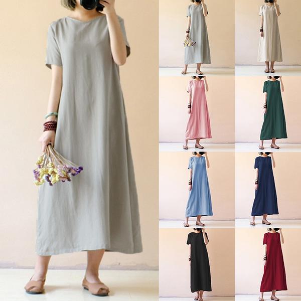 Vintage, Shorts, Cotton, Sleeve