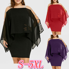 summer dress, solidcolordres, dewshoulder, plus size dress
