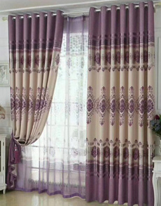 bedroomcurtain, Home Decor, europeanstylecurtainlacecurtainsflowerprintcurtain, Modern