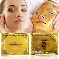 Beauty, gold, moisturizing face mask, Masks