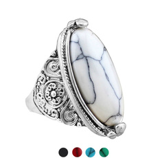 Sterling, Heart, Turquoise, Fashion