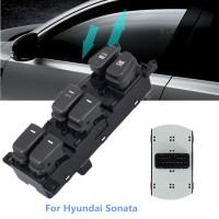 Beneges Master Power Window Switch Compatible with 2005-2008 Nissan Armada 2004 Nissan Pathfinder Armada LE SE Front Left Driver Side Control Switch 25401-ZT10A 2004-2014 Nissan Titan 25401ZT10A