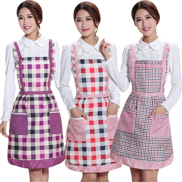 apron, Kitchen & Dining, plaid, womenapron