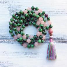 Tassels, quartz, Yoga, Jewelry