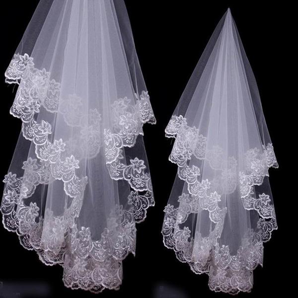 Ivory, weddingveil, bridalveil, Wedding Accessories