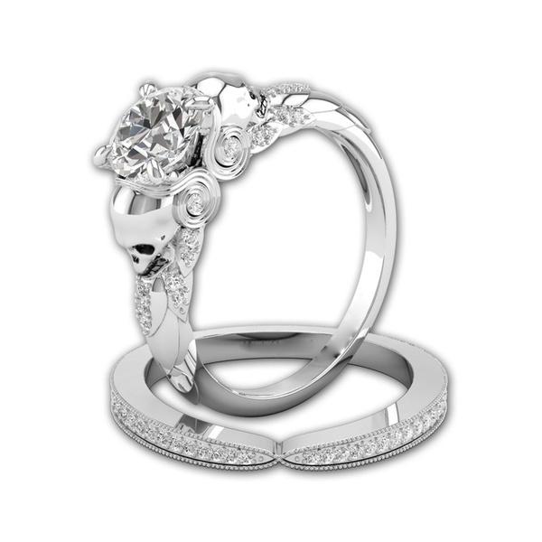Sterling, DIAMOND, leaf, Jewelry