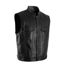 blackwaistcoat, menwaistvest, Men's Fashion, punkvest