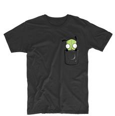 Funny, Funny T Shirt, Cotton T Shirt, invaderzim