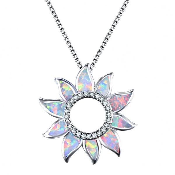 Necklace, rainbow, Engagement, Jewelry