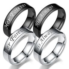 Couple Rings, Steel, Stainless Steel, wedding ring
