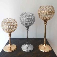 crystalcandleholder, Candleholders, Decor, weddingdecor
