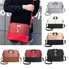 sequinbag, Bags, leather, women shoulder bags