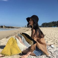 Summer, Fashion, Beach hat, collapsiblehat