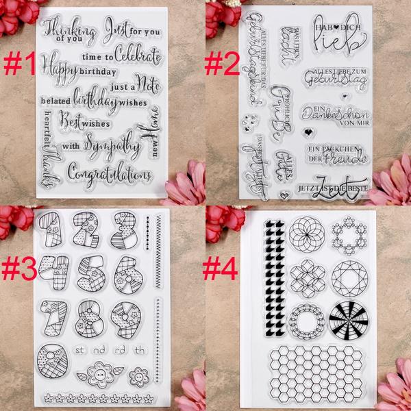 happybirthday, german, Card, Numbers