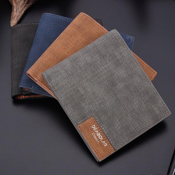 leather wallet, Shorts, leather, Vintage
