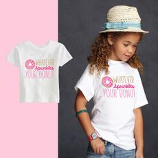 babygirltshirt, yourdonutshirt, Cotton, Shirt