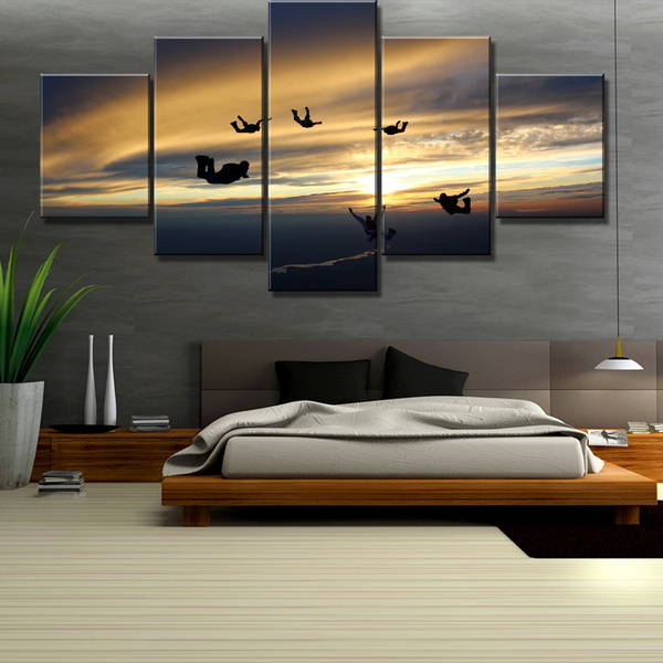 Pictures, skydive, Wall Art, Home Decor