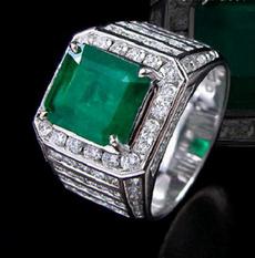Cubic Zirconia, White Gold, Fashion, Jewelry