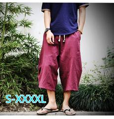 harem, Plus Size, Floral print, pants