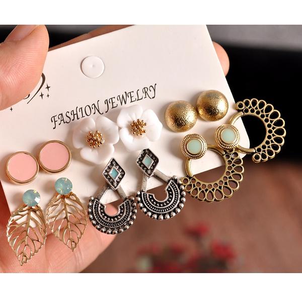 party, Fashion, leaf, Jewelry