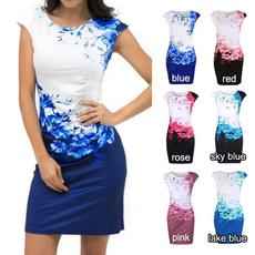 Mini, Fashion, Floral print, Cocktail dresses