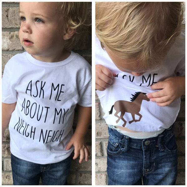 toddlershirt, trendytee, horse, Toddler