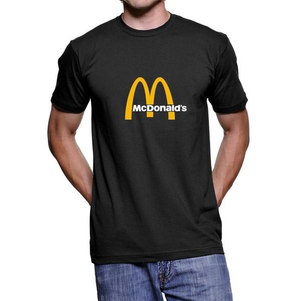 shorttshirt, men's cotton T-shirt, summerfashiontshirt, mcdonald