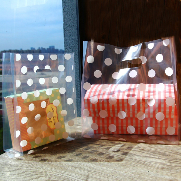 plasticshoppingbag, Gifts, polka dot, Polkas