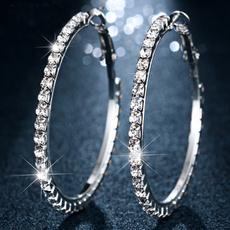 Sterling, Hoop Earring, sterling silver, Jewelry