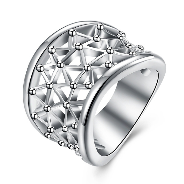 Sterling, Fashion, hollowring, 925 silver rings