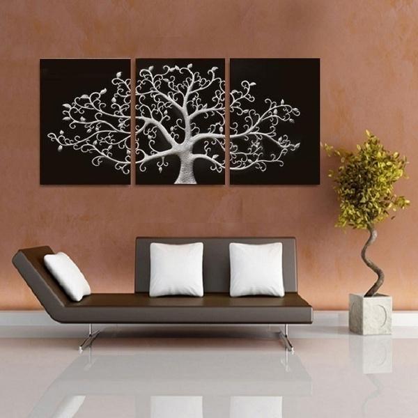 canvasoilpainting, art, Home Decor, Tree