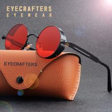 retro sunglasses, Goth, Fashion Sunglasses, Round Sunglasses