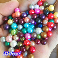 diydecoration, pearl jewelry, multicoloredpearl, Jewelry