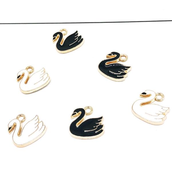 diyjewelry, Jewelry, craftmaking, swan