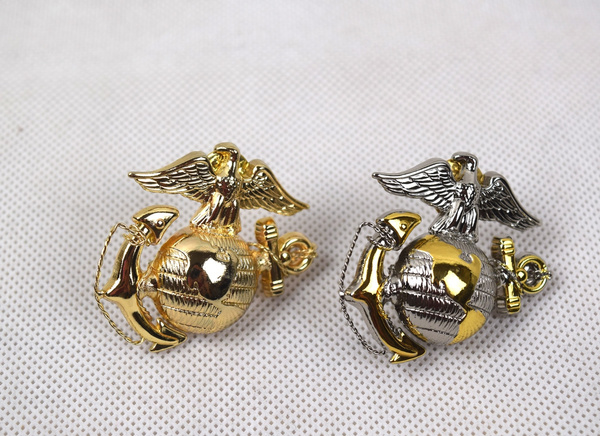 usbadge, Jewelry, officercapbadge, Marine