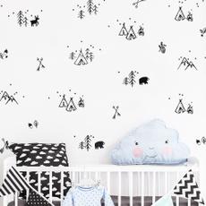 classroomwallsticker, vinyl wall sticker, house, kidsroomswalldecal
