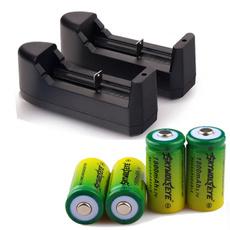 Batteries, 16340batterycharger, charger, skywolfeyebattery