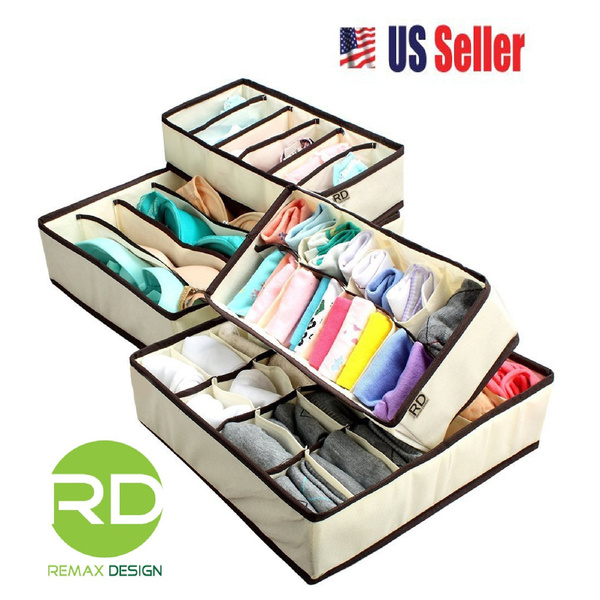 Storage & Organization, collapsible, Closet, underwearorganizer