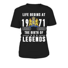 Round neck, Womens T Shirts, T Shirts, Birthday