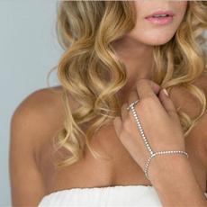 Charm Bracelet, Crystal Bracelet, Jewelry, Chain