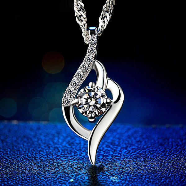 Sterling, DIAMOND, Gifts, Chain