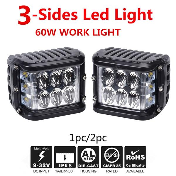 frontdrivinglamp, Light Bulb, Bright, LED Headlights