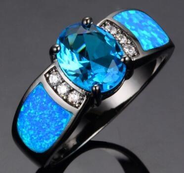 blackgoldring, Blues, DIAMOND, 925 sterling silver