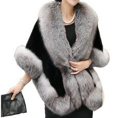 fauxfurcoat, fur, Winter, fur shawl