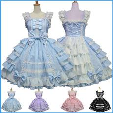 bowknot, maidcostume, princess dress, cakedre